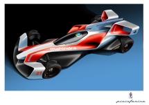 Mahindra Racing Formula E concept car Credit: Mahindra Racing