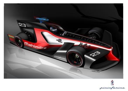 Mahindra Racing Formula E concept car